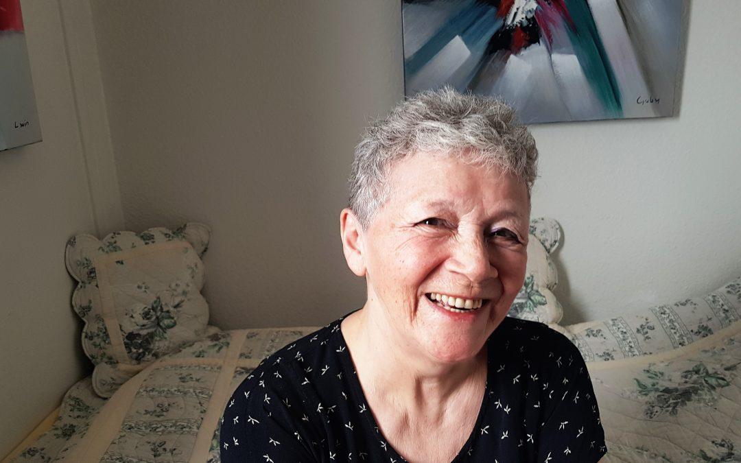#8 Hansine Broberg Geisler. Travl pensionist i Nuuk